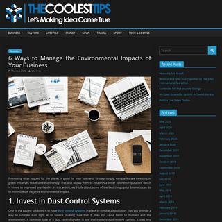 The Coolest Tips - Let's Making Idea Come True