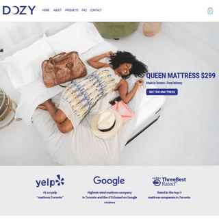 #1 Mattress Store in Toronto - Free Delivery - DOZY