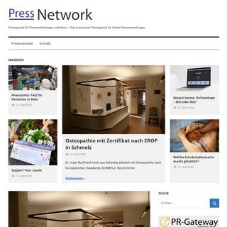 - Presseportal für Pressemitteilungen und News - Das kostenlose Presseportal für Online Pressemitteilungen