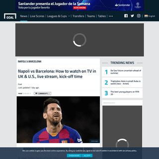 ArchiveBay.com - www.goal.com/en-in/news/napoli-vs-barcelona-how-to-watch-on-tv-in-uk-us-live-stream-kick-/1digby98qq781nbtyppgqfhdf - Napoli vs Barcelona- How to watch on TV in UK & U.S., live stream, kick-off time - Goal.com
