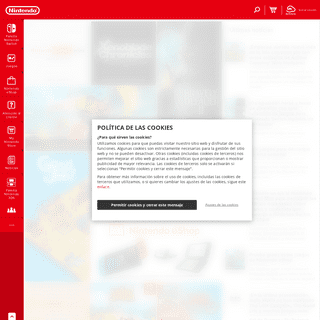 Página web oficial de Nintendo Ibérica