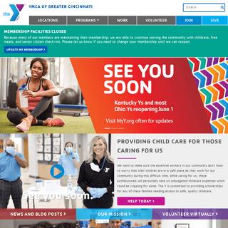 YMCA of Greater Cincinnati - For a Better Us - You Belong Here
