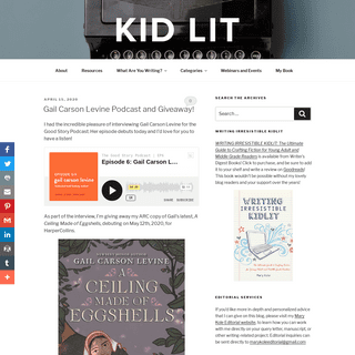 How to Write and Publish Children's Books - Kidlit