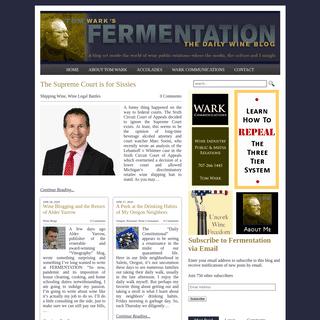 Fermentation - The Daily Wine Blog