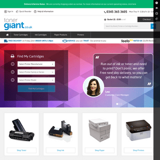 Quality, low cost supplies for your printer - TonerGiant