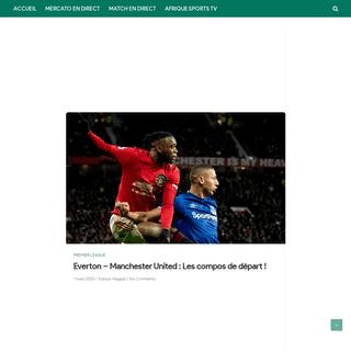 Everton - Manchester United - Les compos de départ !