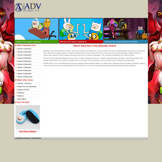 Watch Adventure Time Episodes Online - Advtime.tv