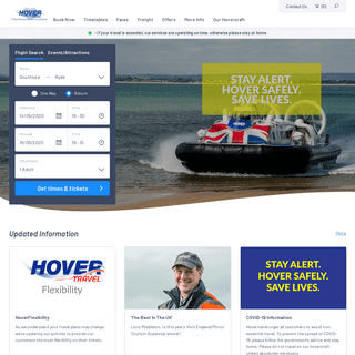 ArchiveBay.com - hovertravel.co.uk - Foot Passenger Ferries to the Isle of Wight - Hovertravel