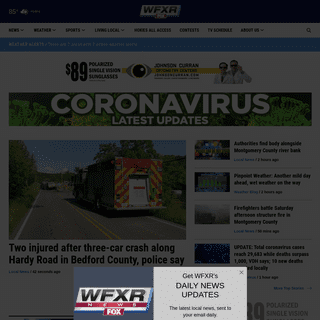 Local FOX station for Roanoke, Lynchburg, and New River Valley news, sports and weather - wfxrtv.com