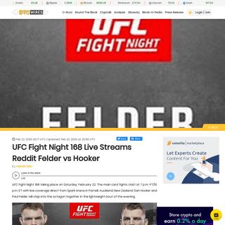 ArchiveBay.com - www.btcwires.com/c-buzz/ufc-fight-night-168-live-streams-reddit-felder-vs-hooker/ - UFC Fight Night 168 Live Streams Reddit Felder vs Hooker - BTC Wires