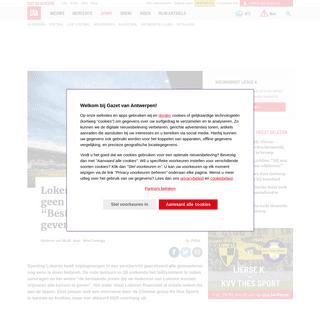"""ArchiveBay.com - www.gva.be/cnt/dmf20200221_04858867/lokeren-vraagt-voorlopig-geen-faillissement-aan-bestaande-pistes-alle-kansen-geven - Lokeren vraagt (voorlopig) geen faillissement aan- """"Bestaand... - Gazet van Antwerpen"""