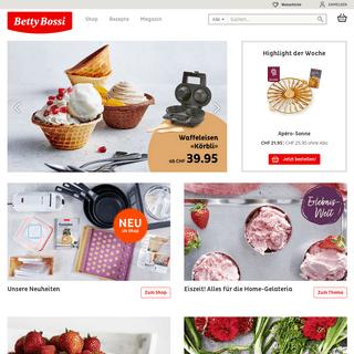 Betty Bossi- Das Online-Portal für Kochen & Geniessen