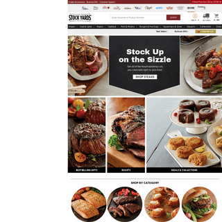 Steak & Meat Delivery - Online Steaks & Seafood - Stock Yards