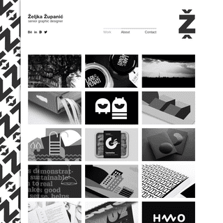 Željka Županić - senior graphic designer - Work