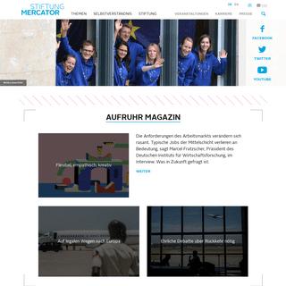 Stiftung Mercator – Stiftung Mercator