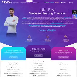 ArchiveBay.com - krystal.uk - UK Hosting - UK Web Hosts & cPanel Hosting - Krystal Hosting