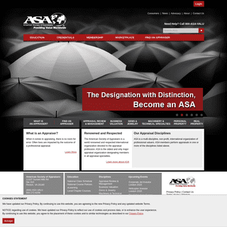 A complete backup of appraisers.org