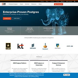 EnterpriseDB- Enterprise Database