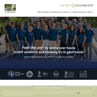 ArchiveBay.com - homesteadroad.com - Feel The Joy - Home Buyer Professionals in Minneapolis -HomesteadRoad