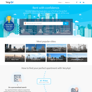 VeryApt – Personalized Apartment Recommendations