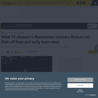 ArchiveBay.com - www.manchestereveningnews.co.uk/sport/football/football-news/man-utd-tv-channel-wolves-17665803 - What TV channel is Manchester United v Wolves on- Kick-off time and early team news - Manchester Evening News