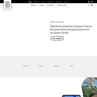 Aktuelle Angebote- Sicherheits-Netz, Jugend-Tarif - Drei.at