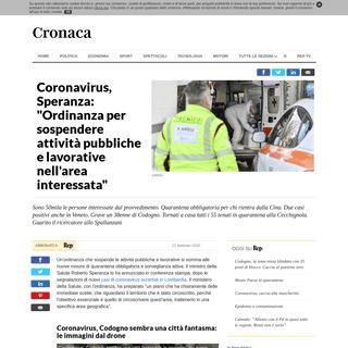 ArchiveBay.com - www.repubblica.it/cronaca/2020/02/21/news/coronavirus_il_ministro_speranza_quarantena_obbligatoria_per_chi_e_venuto_a_contatto_con_i_casi_nel_lodigiano_-249162931/ - Coronavirus, Speranza- -Ordinanza per sospendere attività pubbliche e lavorative nell'area interessata- - la Repubblica