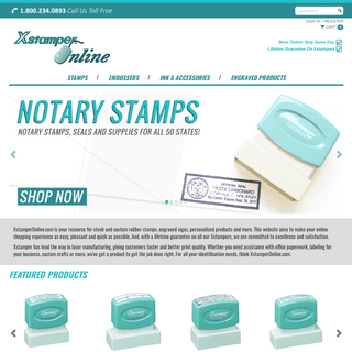 Xstamper Stamps - Pre-Inked Stamps - Free Shipping on Orders Over $10