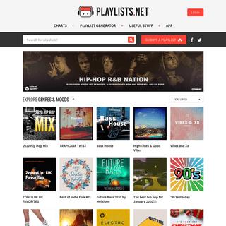 Discover Spotify Playlists at Playlists.net
