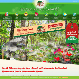 Märchenwald im Isartal - Freizeitpark für die ganze FamilieMärchenwald im Isartal