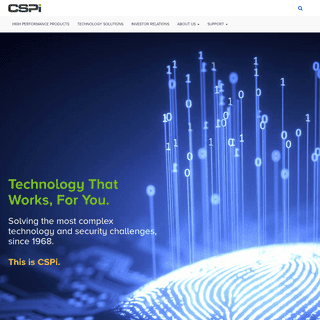 Networking Products, IT Solutions, Advanced Application Security - CSPi