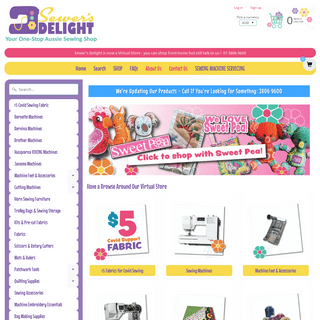 Sewers Delight - Your One Stop Aussie Sewing & Embroidery Shop