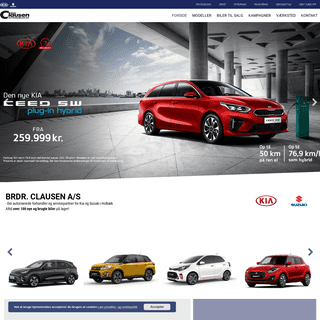 Brdr. Clausen - Din Kia og Suzuki bilforhandler i Holbæk