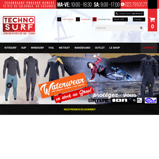 TECHNOSURF Genève, SUP, Paddle-Board, Kitesurf, Windsurf, Foil, LE SPECIALISTE ! - Technosurf