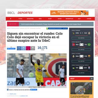 ArchiveBay.com - www.biobiochile.cl/noticias/deportes/futbol/futbol-nacional/2020/02/29/colo-colo-jugara-este-sabado-su-primer-partido-sin-mario-salas-recibira-a-la-udec-en-el-monumental.shtml - Siguen sin encontrar el rumbo- Colo Colo dejó escapar la victoria en el último suspiro ante la UdeC - Fútbol - BioBioChile