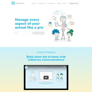 Love educators, connect schools, modernise education - LittleLives Inc