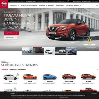 Nissan España - Coches eléctricos, crossovers, 4x4 y furgonetas
