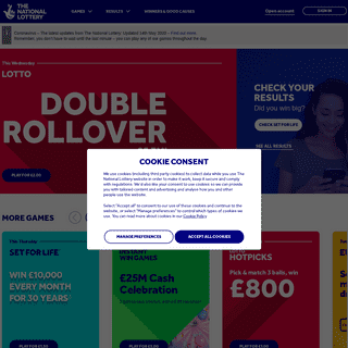 ArchiveBay.com - national-lottery.co.uk - Home - The National Lottery