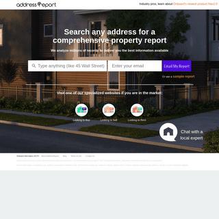 Property Reviews, Complaints & Public Records - AddressReport