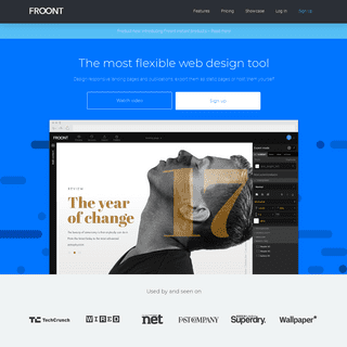 Froont – responsive web design tool