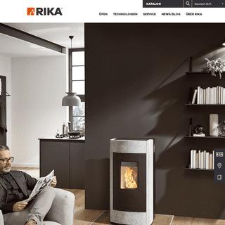 Öfen von RIKA - Mehr als nur ein Wärmespender - RIKA