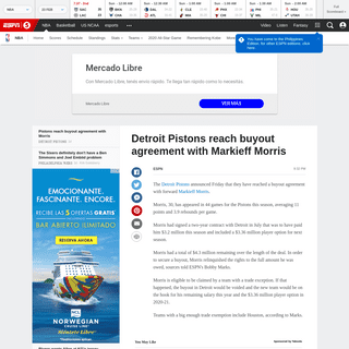 ArchiveBay.com - tv5.espn.com/nba/story/_/id/28751841/detroit-pistons-reach-buyout-agreement-markieff-morris - Detroit Pistons reach buyout agreement with Markieff Morris