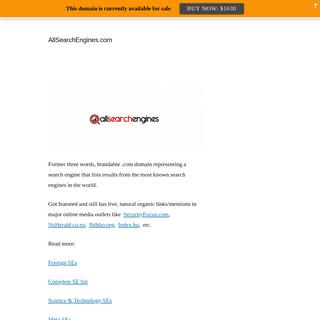 AllSearchEngines.com
