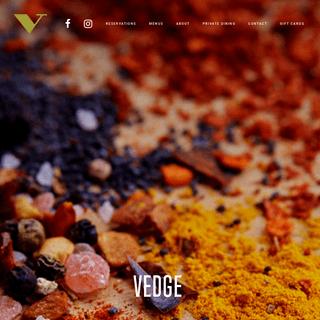 Vedge Restaurant