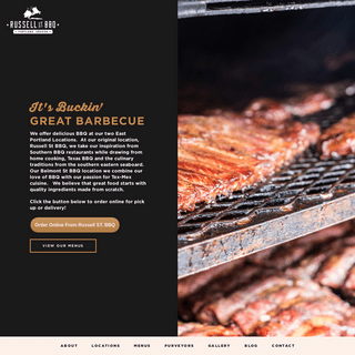 Home - Russell Street BBQ