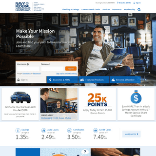 ArchiveBay.com - navyfederal.org - Navy Federal Credit Union - Banking, Loans, Mortgages & Credit Cards