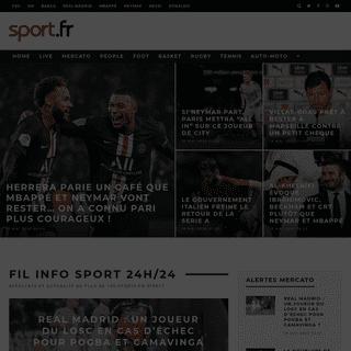 Sport en direct sur Sport.fr - plus de 100 sports en LIVE !