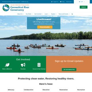 Connecticut River Conservancy – Clean water. Healthy habitat. Thriving Communities.