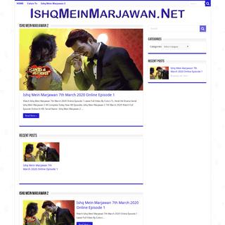 Ishq Mein Marjawan 2 Colors Tv Watch Full Episodes In HD