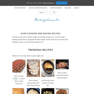 Slow Cooking and Baking Recipes - BakingQueen74